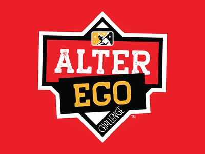MiLB Alter Ego Challenge alter ego icon prospect sports milb logo design branding baseball badge