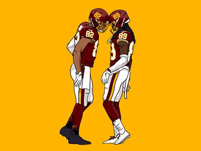 Chapter 3: Stop the Slide washington football nfl procreate ipad illustration
