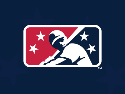 MiLB Rebrand branding one icon prospect mlb milb design baseball logo sports