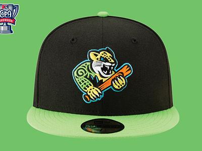 Ocelotes de Greensboro (MiLB) milb design logo sports copa ocelotes north carolina greensboro baseball