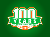 Florida State League 100 Year Anniversary