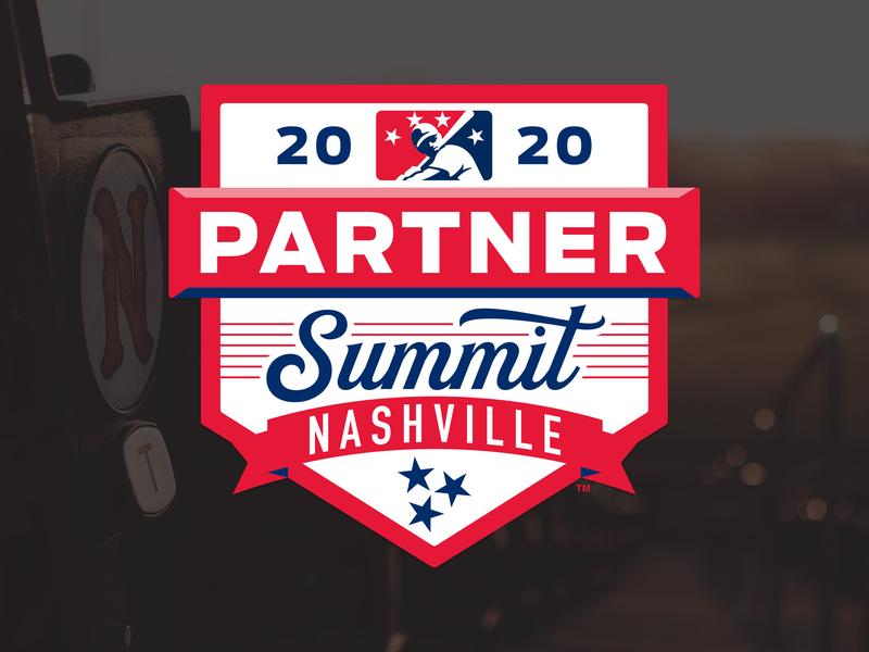 2020 MiLB Partner Summit stars guitar summit partner milb logo design nashville 2020 baseball sports