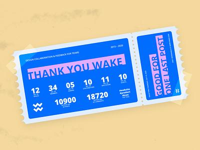 One Last Post sunset tribute last ticket wake illustration