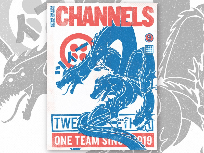 TWEEK 9.0 | Channels poster kaiju channels hackathon tweek twilio