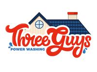 Three Guys Power Washing