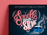 Janelle & Steve   Music Festival Poster