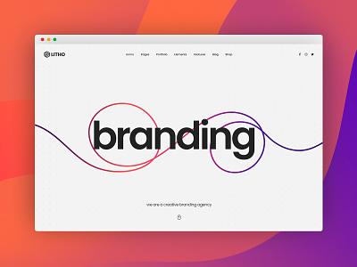 Litho - Elementor WordPress Theme - Branding Agency woocommerce