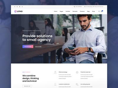 Litho - Elementor WordPress Theme - Business woocommerce