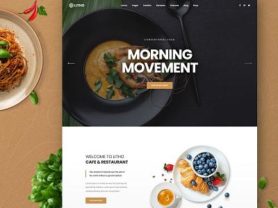 Litho - Elementor WordPress Theme - Cafe cafe woocommerce