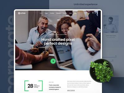Litho - Elementor WordPress Theme - Corporate woocommerce