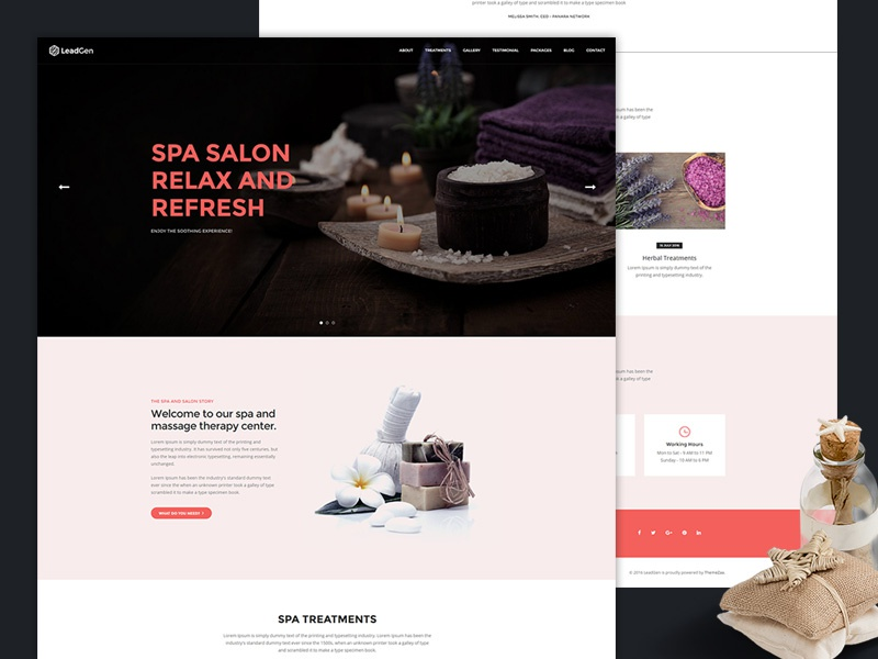 LeadGen - Multipurpose Marketing Landing Page page builder one page multipurpose landing page marketing landing page mailchimp lead generation drag and drop campaign monitor bootstrap responsive aweber active campaign spa salon