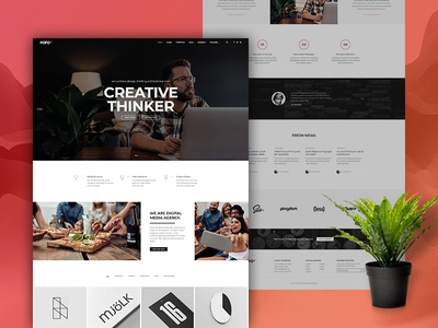 Pofo WordPress Theme - Start-up