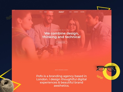 Pofo WordPress Theme - Creative Designer