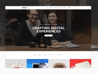 Pofo WordPress Theme - Interactive
