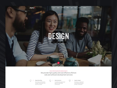 Pofo WordPress Theme - One Page Website
