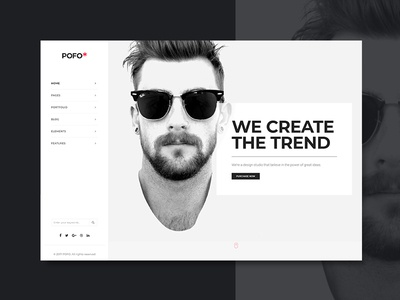 Pofo WordPress Theme - Creative Business