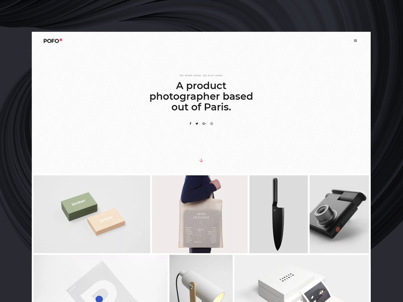 Pofo WordPress Theme - Portfolio Photographer photographer blog business corporate creative website ecommerce freelancer html5 modern multipurpose wordpress photography portfolio