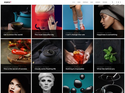 Pofo WordPress Theme - Blog Personal