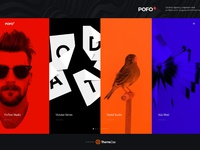 Home portfolio multiple carousel