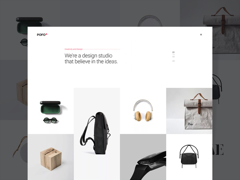 Pofo WordPress Theme - Portfolio Minimal minimal portfolio photography multipurpose wordpress modern html5 freelancer ecommerce creative website corporate business blog