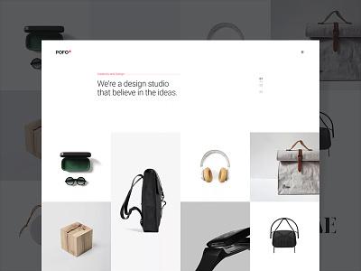 Pofo WordPress Theme - Portfolio Minimal minimal portfolio photography multipurpose wordpress modern html5 freelancer ecommerce creative website corporate business blog