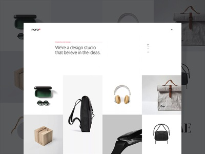 Pofo WordPress Theme - Portfolio Minimal