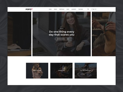 Pofo WordPress Theme - Blog Clean
