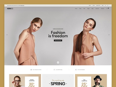 Hongo WooCommerce WordPress Theme - Clothes