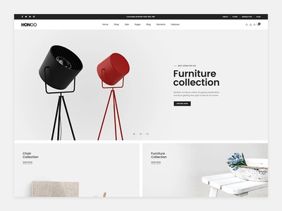 Hongo WooCommerce WordPress Theme - Decor
