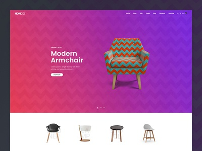 Hongo WooCommerce WordPress Theme - Furniture