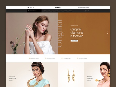Hongo WooCommerce WordPress Theme - Jewellery