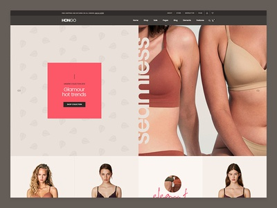 Hongo WooCommerce WordPress Theme - Lingerie