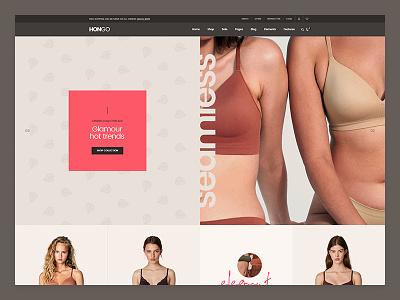 Hongo WooCommerce WordPress Theme - Lingerie woocommerce store shopping shop responsive page builder multipurpose modern furniture fashion electronics ecommerce creative clothes blog