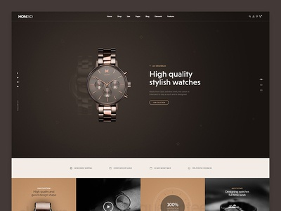 Hongo WooCommerce WordPress Theme - Watch