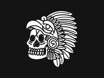 6/100 My fathers birthday. vintage blackwork tattoo chicago graphic design scoundrel hand drawn grunge illustration skull