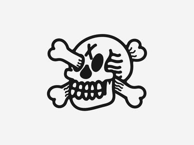 Mood artist chicago scoundrel grunge blackwork illustration skull