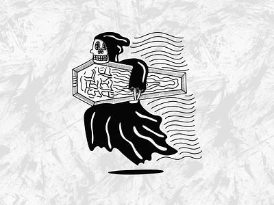 Still Alive scoundrel blackwork vintage graphic design typography lettering hand drawn grunge illustration