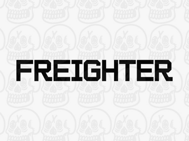 Freighter Typeface type design preview wip typeface chicanx chicago graphic design font hand lettering lettering typography