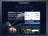oGamer Web Site Design