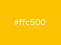 #ffc500