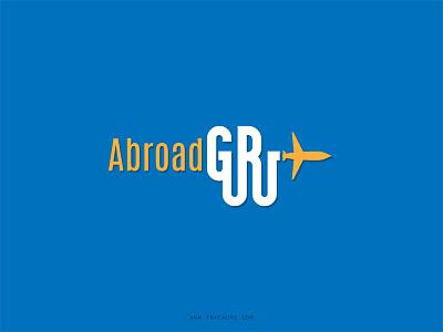 Abroad Guru Logo character design sketching comic art art illustration game design game development uiux mobile application branding abroad guru logo design