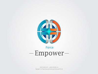 Empower Logo empower technology logo design