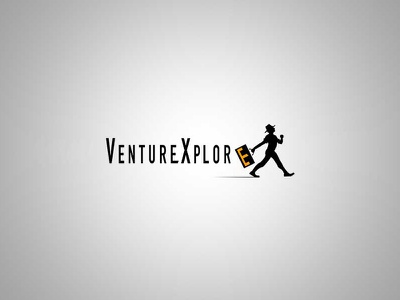 Venturexplore design logo