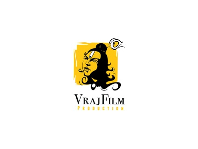 Vraj Film Logo design logo