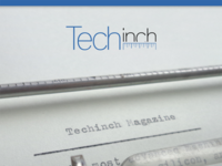 Techinch Magazine Issue 1 Cover
