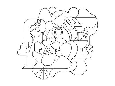 SKETCH sketch vector jhonny núñez ilustración illustration