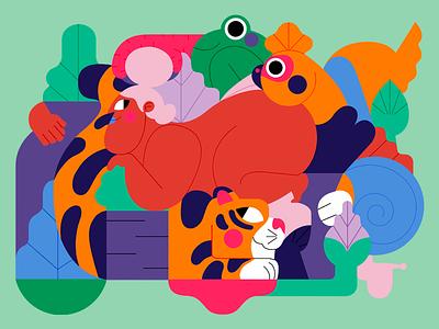 GORDA procreate jhonny núñez ilustración illustration