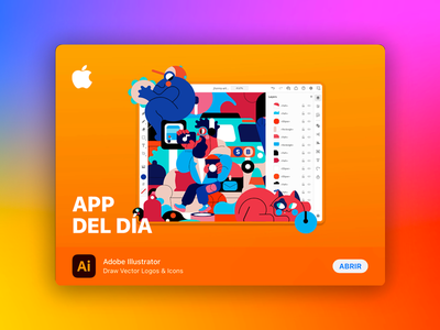 APP OF THE DAY appstore apple adobe illustrator on the ipad vector jhonny núñez ilustración illustration