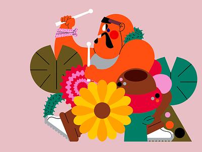 Chico-Loco illustrator freelance chicanno jhonny núñez ilustración illustration