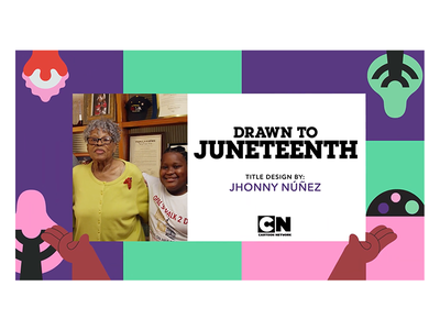 Drawn To: Juneteenth drawn to juneteenth cartoon network ilustración illustration